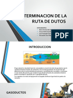 Determinacion de La Ruta de Dutos