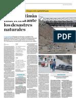 Lima Continúa Indefensa Ante Los Desastres Naturales