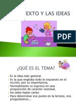 EL TEXTO Y LAS IDEAS.ppt