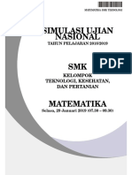 SIMULASI UNBK SMK