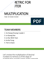 Presentation EE471 Multiplication
