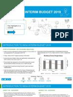Rsm-India Interim Budget 2019-Key Aspects in a Nutshell