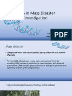 dna in mass disaster.ppt