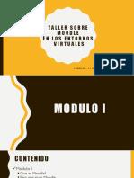 Taller Sobre Moodle Modulo I