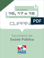[ASCOM-SESPA] Clipping Eletrônico - 16, 17 e 18.02.2019