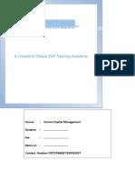 Sap Hcm Course Curriculum_ Sap Globle (1) (1)[586]