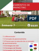 Fundamentos de Marketing - semana 7 Posicionamiento.pptx
