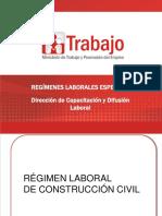 Regímenes Laborales Especiales. Construcción Civil (3)