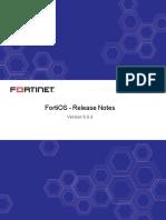Fortios v6.0.4 Release Notes