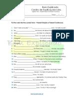 3.9 Ficha de Trabalho - Present Simple vs Present Continuos (3)