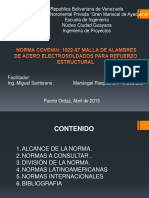 COVENIN 1022-97 Malla de Alambres Acero Electrosoldados.pdf