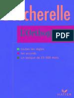 Bescherelle_L'Orthographe Pour Tous