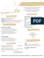 Kayla Clarke Resume
