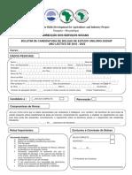 Publicacao - Boletim Candidaturas Bolsa UniLúrio SSDAIP - 2018 a 2022