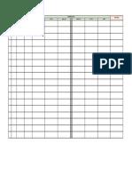 Form Survei Lapangan Pra FS Tol