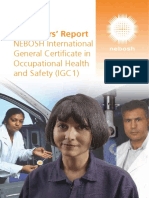 International General Certificate March 2017