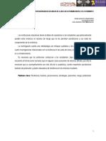 La resiliencia en las aulas de clase en la formación de los estudiantes. Cesar Augusto Lozano Parga. Universidad de Tolima.