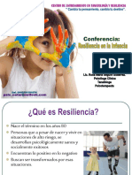 Resiliencia en la Infancia