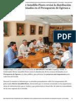 19-01-2019 Gobernador Héctor Astudillo Flores revisó la distribución de los recursos destinados en el Presupuesto de Egresos a la obra pública.