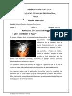 Particula de Dios  o Bosón de Higgs