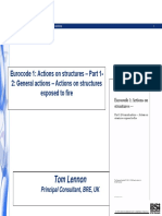 EC 1 - Actions on structures
