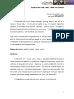Jóvenes unidos y unidas por la igualdad. Stephanny Parra Ordoñez de Valdés. Colegio La Toscana Lisboa (Bogotá).