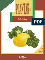MELÃO - Coleção Plantar - EMBRAPA (Iuri Carvalho Agrônomo)