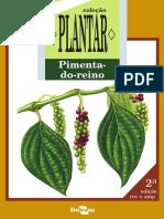 PIMENTA-DO-REINO - Coleção Plantar - EMBRAPA (Iuri Carvalho Agrônomo)