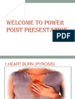 Power Point Presentation PEPTIC ULCER CM