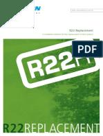 Daikin Sky Air R22 Replacement Product Catalog