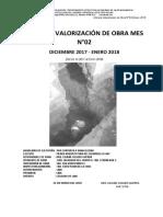 INFORME COMPLETO VALORIZACION DE OBRA N° 02