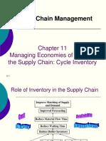 Chapter 11 (SCM)