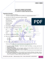FEC Orange County Affiliates Capacity Competency Service Survey Fillable