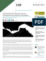 Profissionais de saúde precisam de treinamento para abordar sexualidade – Jornal da USP