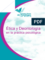 Manual Deontológico Psicología