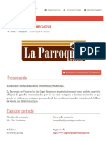 Infomacion Franquicia La Parroquia.