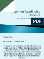10 Régimen Académico Docente