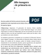 24-01-2019 Héctor Astudillo inaugura instalaciones de primaria en Chilpancingo..pdf