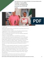 28-01-2019 Presenta Gobernador Astudillo resultados y logros de promoción turística de Guerrero en FITUR España.
