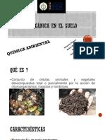 Materia Organica Quimica Ambiental