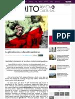 La globalización en las artes escénicas - Mito | Revista Cultural