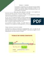 Trabajo y Energia (Modulo Viii