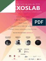 Cartel KlexosLab 2019