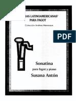 Antón, Susana - Sonatina