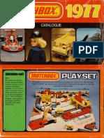 Matchbox 1977 Catalogue