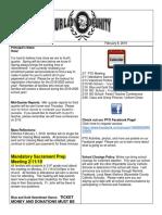 callys newsletter 2