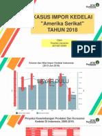 PPT Ekonomi Internasional Tentang Kasus Impor Kedelai Kedelai Indonesia Tahun 2005 - 2018