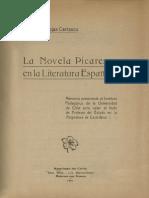 La novela picaresca en la literatura española