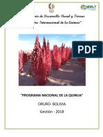 Programa nacional de la quinua _borrador