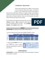 Pestaña Datos - Tablas en Excel